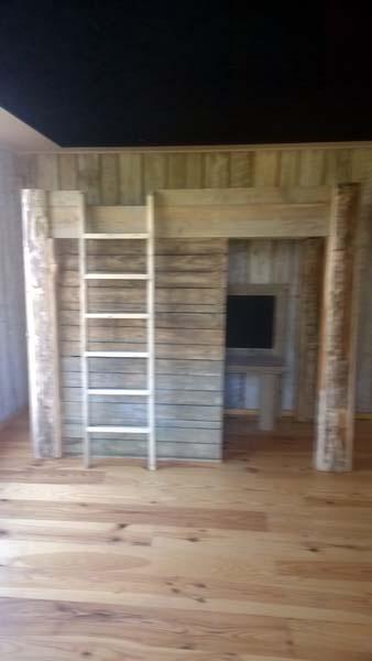 1 persoons-hoogslaper (gesloten) - steigerhout ideetje