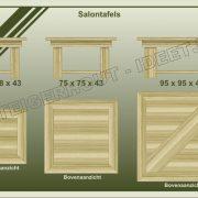 13. Salontafels