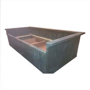 41. Bed met laden 200x90x60